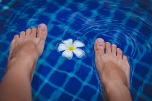 pexel feet water